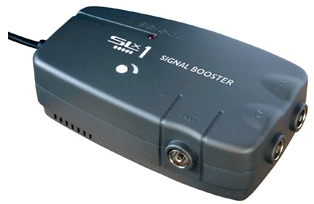 Aerial signal booster
