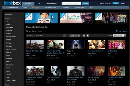 Blinkbox Website