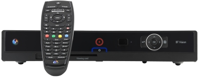 BT Vision V+ Box with remote control