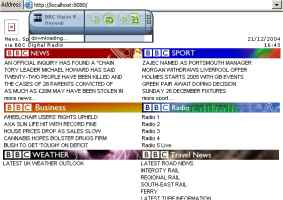BBC Data feed over DAB