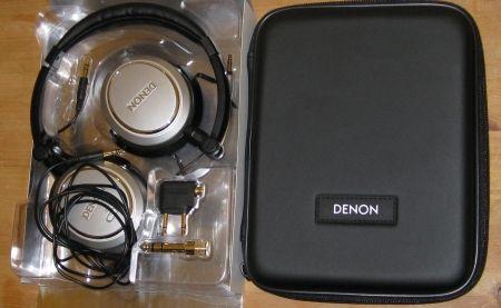 Contents of Denon AH-NC732 box
