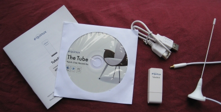 Supplied with the Equinux TubeStick