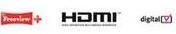 Humax PVR9300 Logos