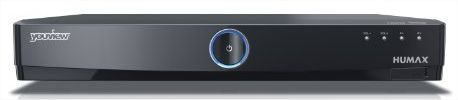 The Humax T1000 YouView box, available from BT