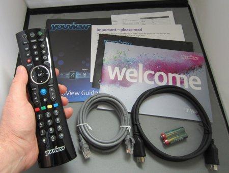 Humax DTR-T1000 Box Contents
