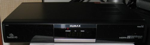 Humax FoxSat Photo