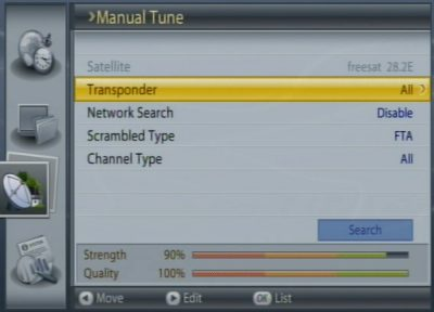 Scanning for other channels