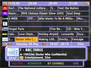 iPlayer TV Guide