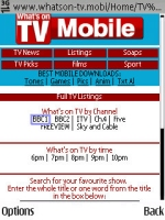 Whats On TV Mobile