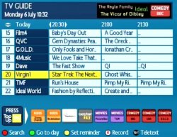 french tv programme guide