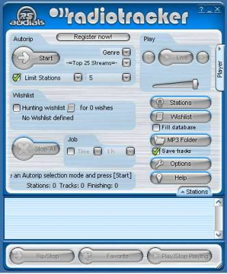 Radio Tracker
