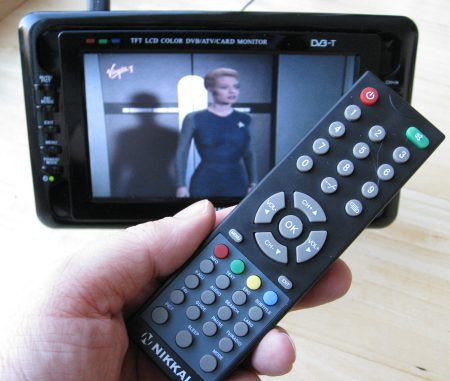 Nikkai TV with remote control