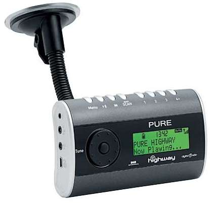 pure highway in car dab radio the easy way radio. Black Bedroom Furniture Sets. Home Design Ideas