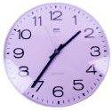 Standard white clock