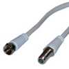 Satellite TV cable extension lead