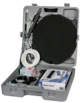 Portable camping satellite TV kit