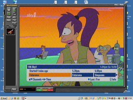 Satellite TV on a PC