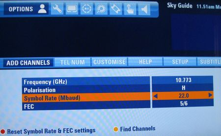 how to manually tune channels on a sky box radio telly uk rh radioandtelly co uk  Channelview Houston