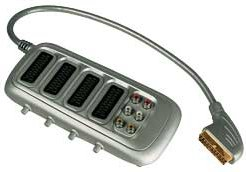 Bush 4-way SCART switch