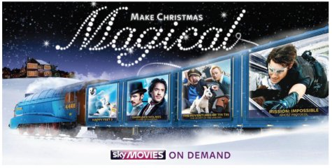 Sky's 2012 Christmas Campaign