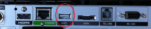 Sky Box USB Slot