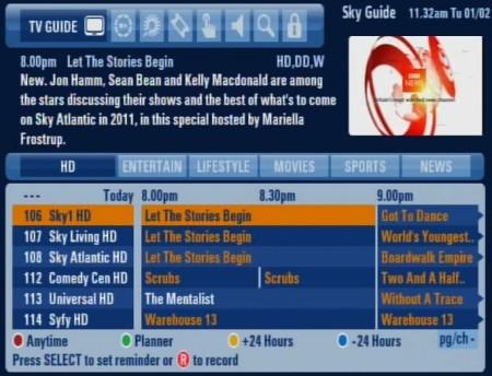 Sky Sports Tv Guide Uk