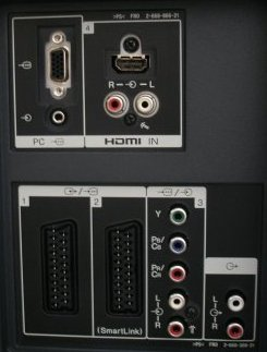 Sony RDR-GX210S Rear Panel