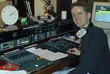 Tony Williams in studio 1