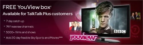 TalkTalk TV and YouView