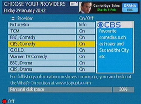 Top Up TV Anytime Channels