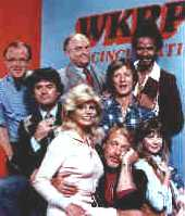 The WKRP team