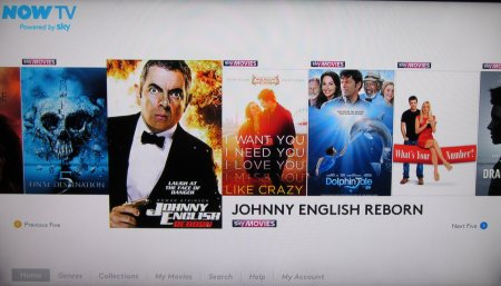 Now TV on YouView