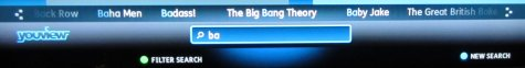 Searching on YouView