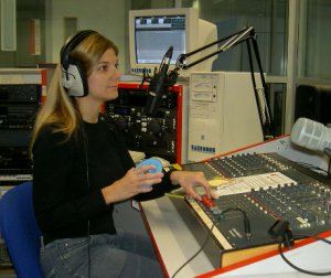 Student at South Essex College Radio Studio