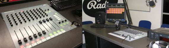 South Essex College Radio Studio